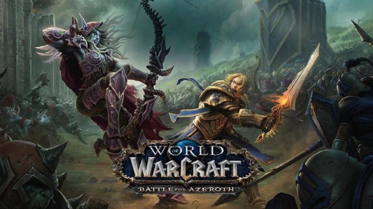 Постер игры WoW Битва за Азерот