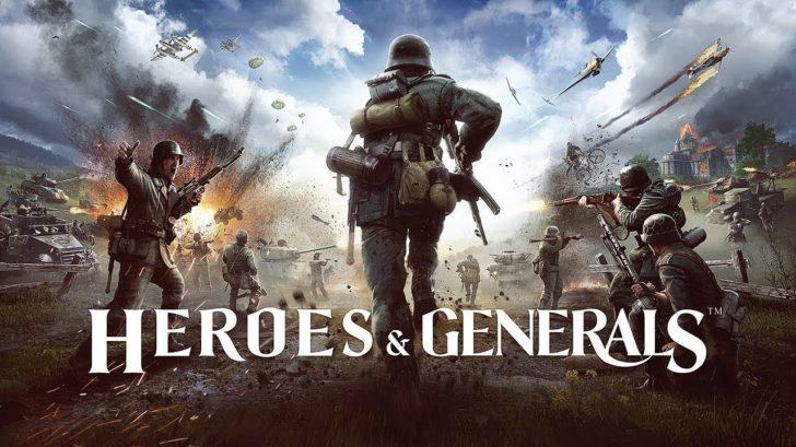 Heroes and Generals обложка игры