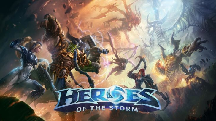 Heroes of the storm иоба от BLizzard