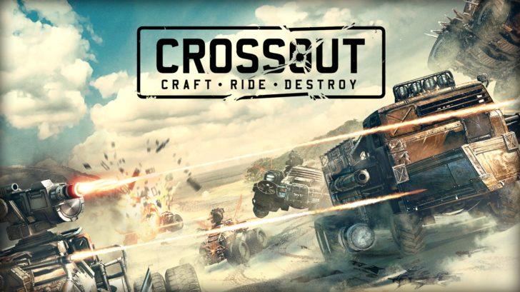Стрелялка онлайн Crossout сумасшедшие гонки