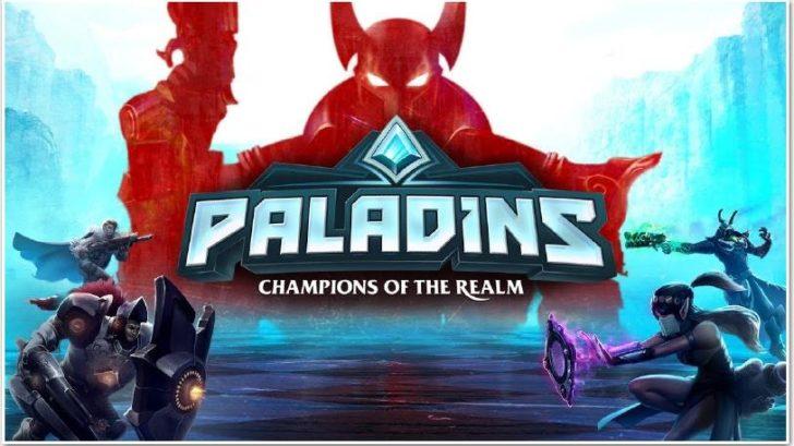 Paladins постер игры