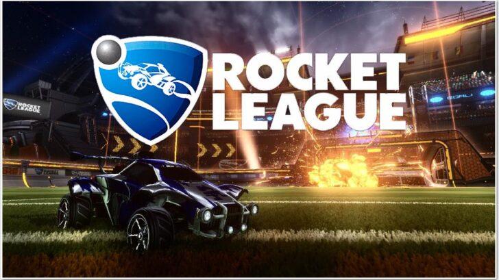 Rocket League обложка игры