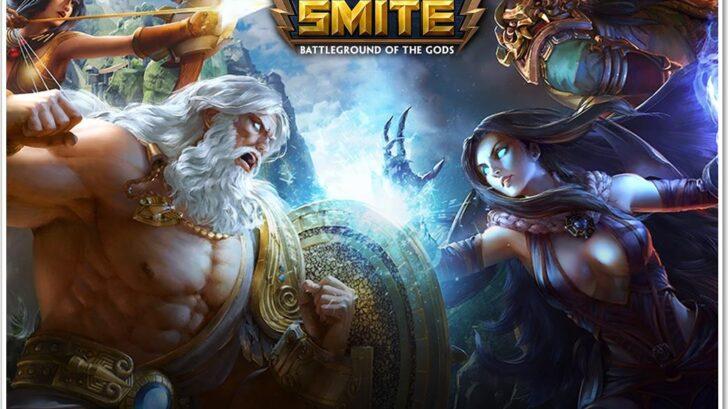 Обложка игры мобы Smite