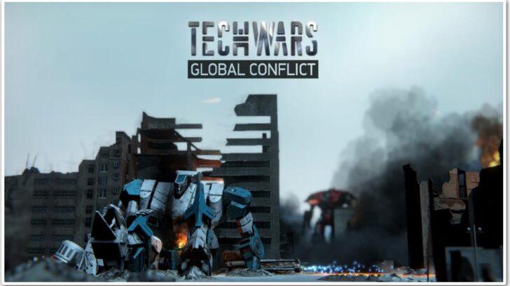 Обложка онлайн игры Techwars: Global Conflict