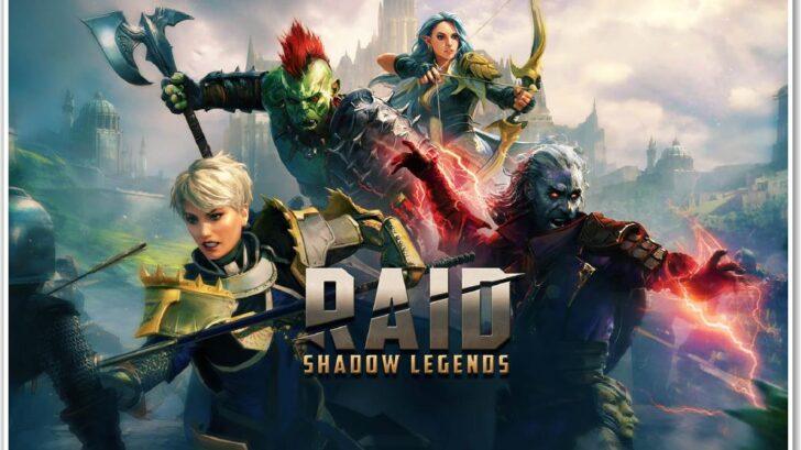 Raid shadow legends обложка игры