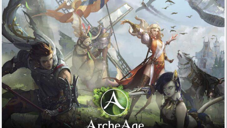 ArcheAge обложка игры скачать