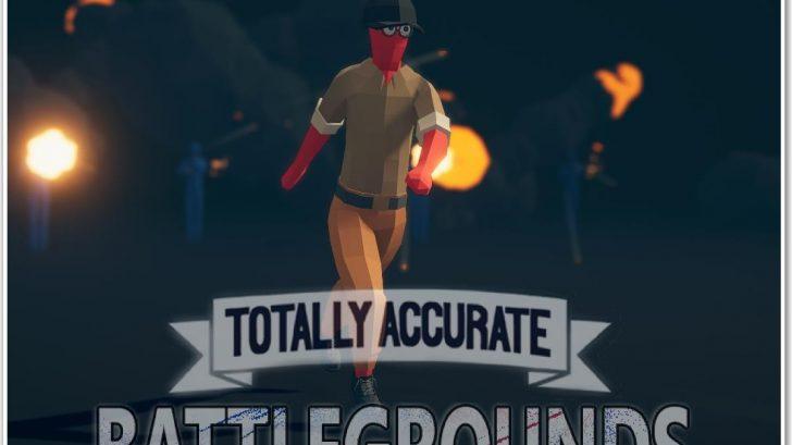 Totally Accurate Battlegrounds онлайн игра с паркуром